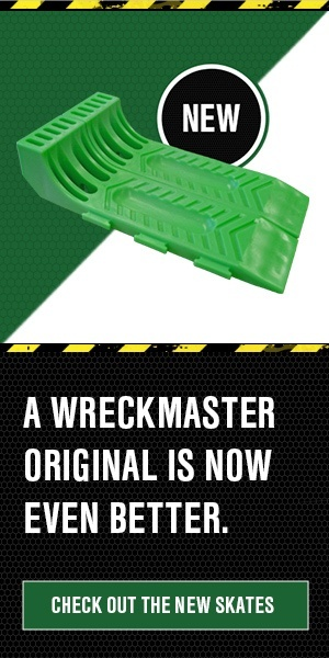 A WreckMaster original is now even better. Check out the new Skates