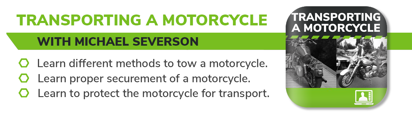 Transporting a Motorcycle Live